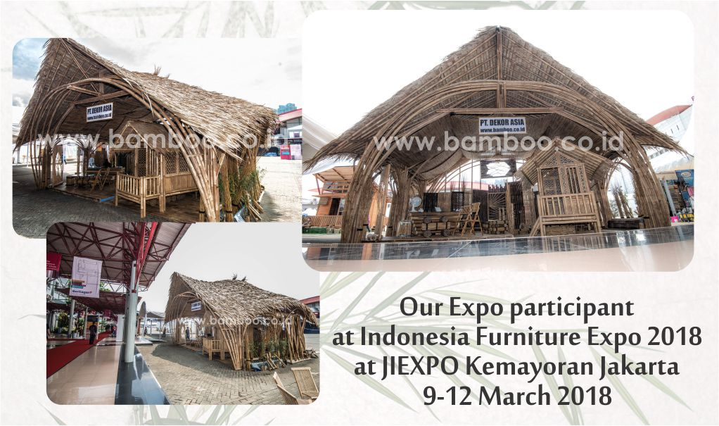 Our Expo participant at Indonesia Furniture Expo 2018 at JIEXPO Kemayoran Jakarta 9-12 March 2018